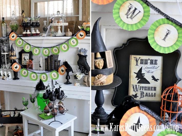 Karas Party Ideas Witches Ball Halloween Supplies