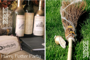 Harry Potter Themed Party via Kara's Party Ideas- www.KarasPartyIdeas.com