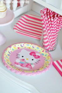 Hello Kitty Birthday Party via Kara's Party Ideas Ideas -www.KarasPartyIdeas.com-shop-108