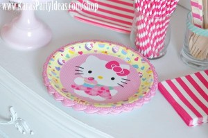 Hello Kitty Birthday Party via Kara's Party Ideas Ideas -www.KarasPartyIdeas.com-shop-110