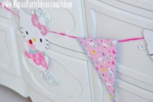 Hello Kitty Birthday Party via Kara's Party Ideas Ideas -www.KarasPartyIdeas.com-shop-136