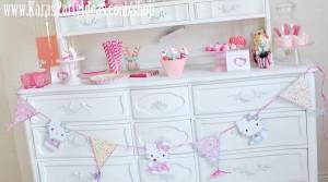 Hello Kitty Birthday Party via Kara's Party Ideas Ideas -www.KarasPartyIdeas.com-shop-162