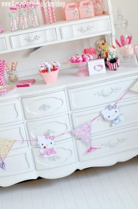 Hello Kitty Birthday Party via Kara's Party Ideas Ideas -www.KarasPartyIdeas.com-shop-164