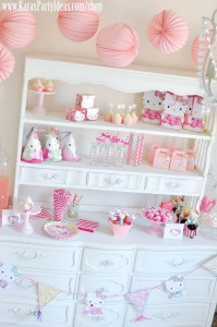 Hello Kitty Birthday Party via Kara's Party Ideas Ideas -www.KarasPartyIdeas.com-shop-170