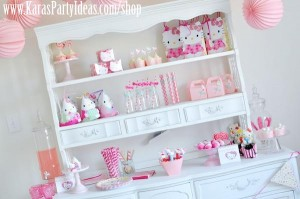 Hello Kitty Birthday Party via Kara's Party Ideas Ideas -www.KarasPartyIdeas.com-shop-181