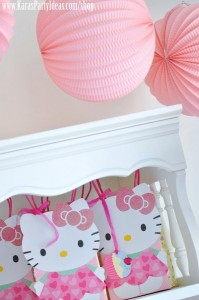 Hello Kitty Birthday Party via Kara's Party Ideas Ideas -www.KarasPartyIdeas.com-shop-38
