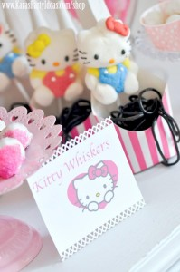 Hello Kitty Birthday Party via Kara's Party Ideas Ideas -www.KarasPartyIdeas.com-shop-62