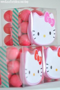 Hello Kitty Birthday Party via Kara's Party Ideas Ideas -www.KarasPartyIdeas.com-shop-74