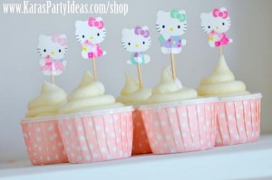 Hello Kitty Birthday Party via Kara's Party Ideas Ideas -www.KarasPartyIdeas.com-shop-78