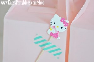 Hello Kitty Birthday Party via Kara's Party Ideas Ideas -www.KarasPartyIdeas.com-shop-80