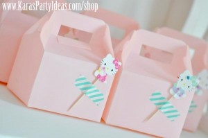 Hello Kitty Birthday Party via Kara's Party Ideas Ideas -www.KarasPartyIdeas.com-shop-82