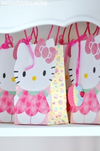 Hello Kitty Birthday Party via Kara's Party Ideas Ideas -www.KarasPartyIdeas.com-shop-97