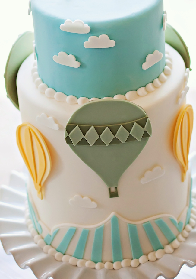 Cake Decorating Hot Air Balloon : Kara s Party Ideas USD100 Cupcake & Cake Topper GIVEAWAY ...
