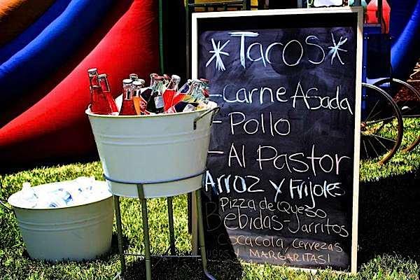 7th birthday mexican fiesta drinks | Kara's Party Ideas