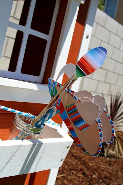 7th birthday mexican fiesta photobooth props | Kara's Party Ideas
