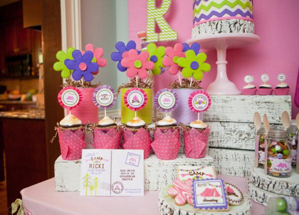 7th birthday party ideas for girl unicorn activities karas party ideas girly camping glamping birthday for the