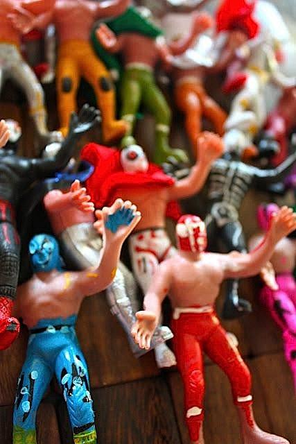 7th birthday mexican fiesta lucha libres | Kara's Party Ideas