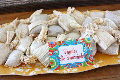 7th Birthday Mexican Fiesta Tamales | Kara''s Party Ideas