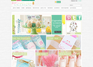 Kara's Party Ideas Shop Home Page 2