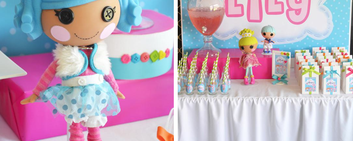 Lalaloopsy Birthday Party Planning Idea via Kara's Party Ideas -www.KarasPartyIdeas.com