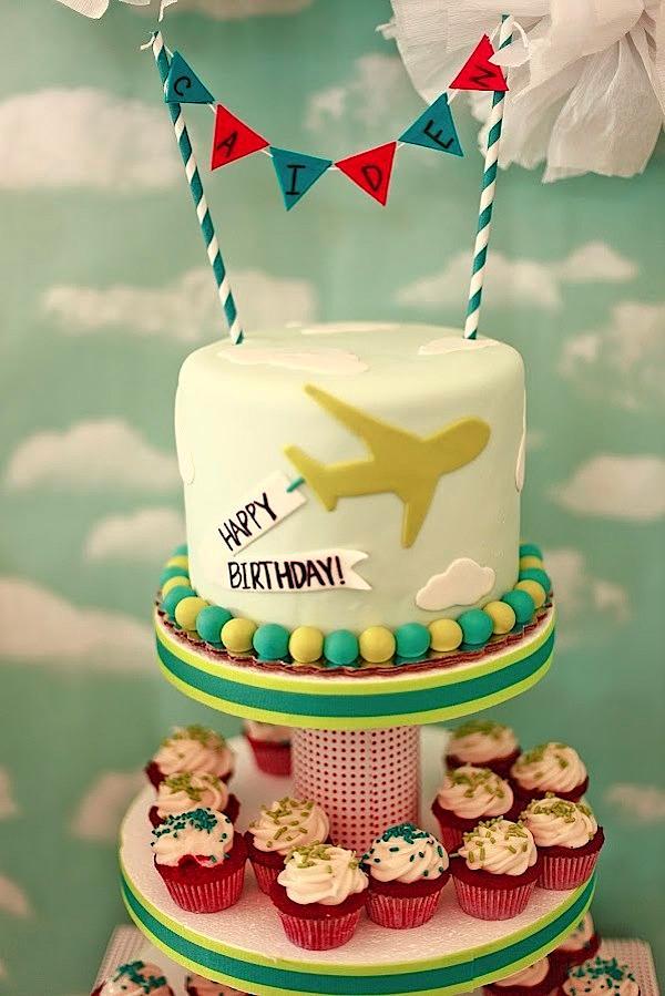 Karas Party Ideas Airplane Airport Themed Birthday Party Karas