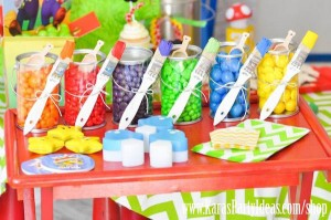 Mario Themed Birthday Party via Kara's Party Ideas - www.KarasPartyIdeas.com-15
