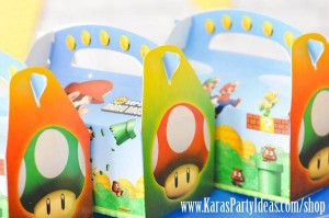 Mario Themed Birthday Party via Kara's Party Ideas - www.KarasPartyIdeas.com-24