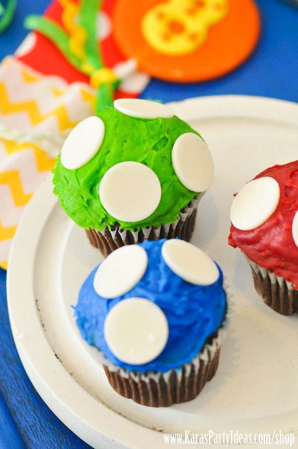 Mario Themed Birthday Party via Kara's Party Ideas - www.KarasPartyIdeas.com-29