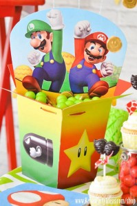 Mario Themed Birthday Party via Kara's Party Ideas - www.KarasPartyIdeas.com-38