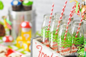 Mario Themed Birthday Party via Kara's Party Ideas - www.KarasPartyIdeas.com-40