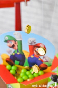Mario Themed Birthday Party via Kara's Party Ideas - www.KarasPartyIdeas.com-45