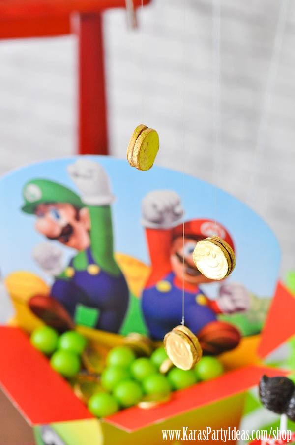 Kara S Party Ideas Super Mario Bros Themed Birthday Party