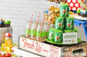 Mario Themed Birthday Party via Kara's Party Ideas - www.KarasPartyIdeas.com-49