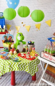 Mario Themed Birthday Party via Kara's Party Ideas - www.KarasPartyIdeas.com-56