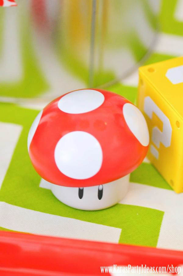 Mario Themed Birthday Party via Kara's Party Ideas - www.KarasPartyIdeas.com-57