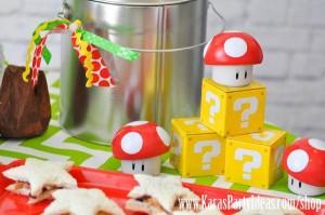 Mario Themed Birthday Party via Kara's Party Ideas - www.KarasPartyIdeas.com-59