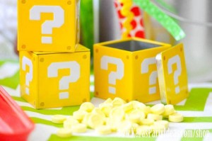 Mario Themed Birthday Party via Kara's Party Ideas - www.KarasPartyIdeas.com-62