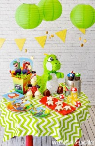 Mario Themed Birthday Party via Kara's Party Ideas - www.KarasPartyIdeas.com-64