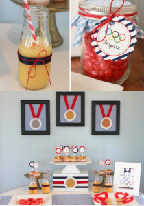 Olympic Themed Birthday Party via Kara's Party Ideas- www.KarasPartyIdeas.com