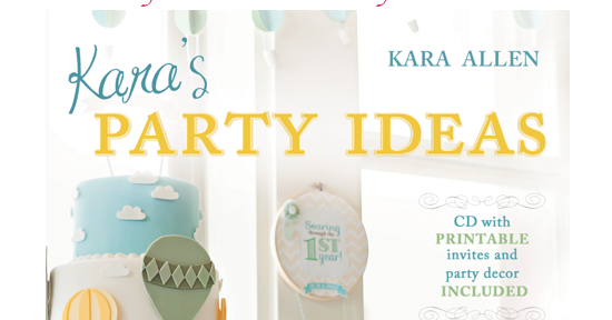 Online blog book tour Kara's Party Ideas