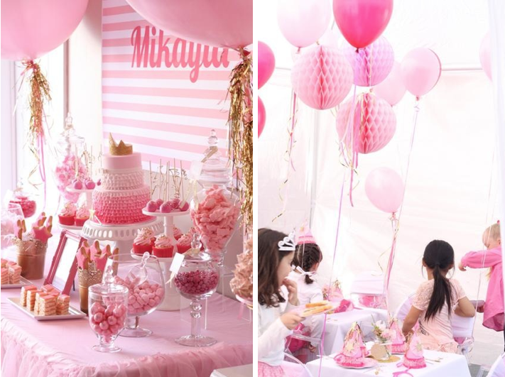 Pinkalicious 6th Birthday Princess Party - Kara's Party Ideas