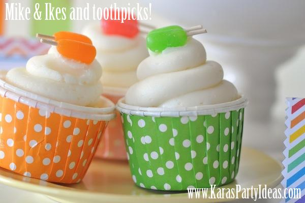 I made these adorable POPSICLE CUPCAKES after finding the idea on Pinterest. & Karau0027s Party Ideas PINTEREST