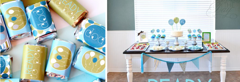 READY TO POP baby shower ideas via www.karaspartyideas.com