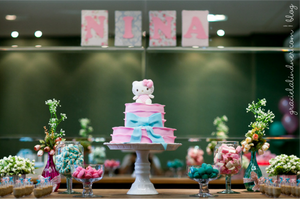 Karas Party Ideas Hello Kitty 1st Birthday Party Karas Party Ideas