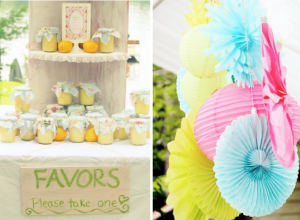 Shabby Chic Bridal Shower via Kara's Party Ideas - www.KarasPartyIdeas.com