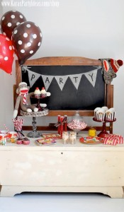 Sock Monkey Birthday Party- Kara's Party Ideas -www.KarasPartyIdeas.com-shop-353