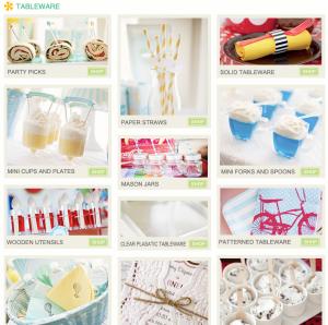 Tableware Karas's Party Ideas Shop
