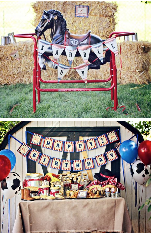 Karas Party Ideas Western Cowboy Saddle Up 2nd Birthday Party