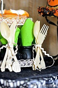 Witches Ball Halloween Party via Kara's Party Ideas Ideas -www.KarasPartyIdeas.com-shop-1