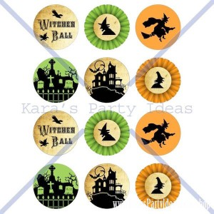 Witches Ball Halloween Party via Kara's Party Ideas Ideas -www.KarasPartyIdeas.com-shop-23